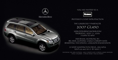 MORE MERCEDES TO LOVE 2007 GL LAUNCH image